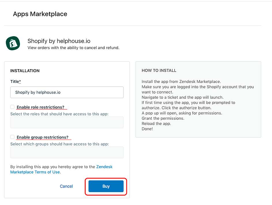 How to integrate Shopify with Zendesk Support – Helphouse io